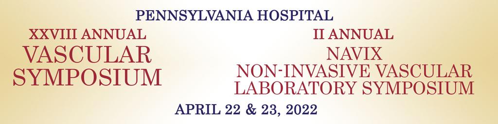 Pennsylvania Hospital Vascular Symposium